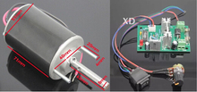 24v dc motor with controller the adjustable speed motor 12V24V DC motor reversing motor DC variable speed reversible