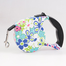 Top Quality New Arrival Dog Leads Retractable Leashes Big Size 5M For Dog Walking Printed Automatic Adjustable Free Shipping(China)