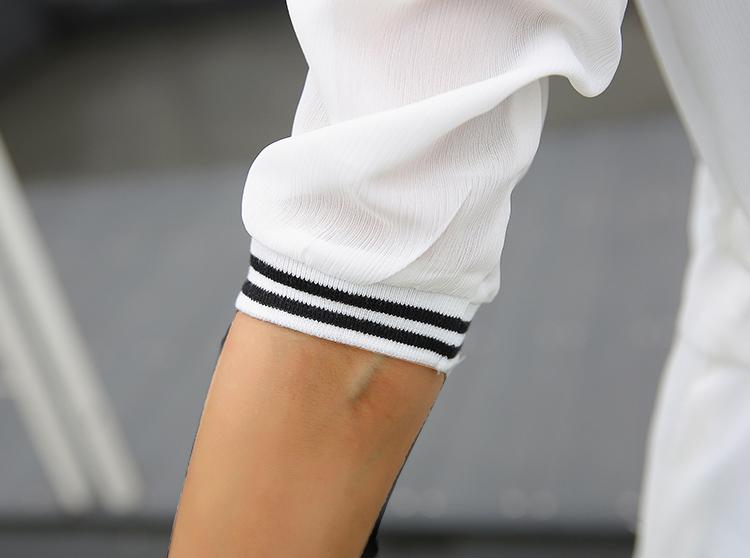 Kimonos for Women 2018 Summer Ladies Chiffon Cardigans Female Casual Blouses Baseball Jackets Vintage Jaqueta Feminina Casaco 7