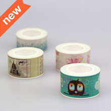 8 Pieces / Lot  25mm*10m Factory Suppliers For Decorative Tape Adhesive Tape Washi Tapes Stickers Masking Tape Stationery School