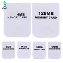 Practical 4MB 8MB 16MB 32MB 64MB 128MB Storage Space Memory Card SaveData Stick for Nintendo Wii Gamecube GC NGC Game White New(China)