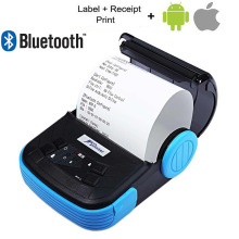 80mm Portable Android IOS Bluetooth Thermal Printer Receipt Printer Mobile Phone POS Printer For supermarket Ticket Print