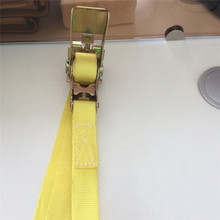 1 Pcs 7m Length 2.5cm Weight Car Tension Rope Ratchet Tie Luggage Strap Tied Durable Household Fastening Belt Safe Pull 800kg(China)