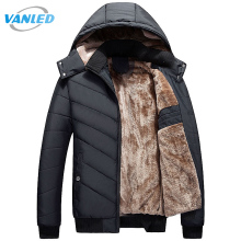 Winter Parka Men 2017 New Men's Jacket Casual Hooded Padded Coat Mens Thick Warm Parka Men Outwear Jacket Male Clothing(China)