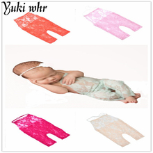 Yuki Lace Romper Newborn Photography Props Accessories For Infant Boys Girls Photography Props Clothes Baby Photo Props 2017