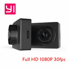 Original Xiaomi YI Smart Car DVR wireless WiFi Xiaoyi Dash Camera 130 Degree 1080P 30fps 2.7Inch Car Camera for Android & iOS