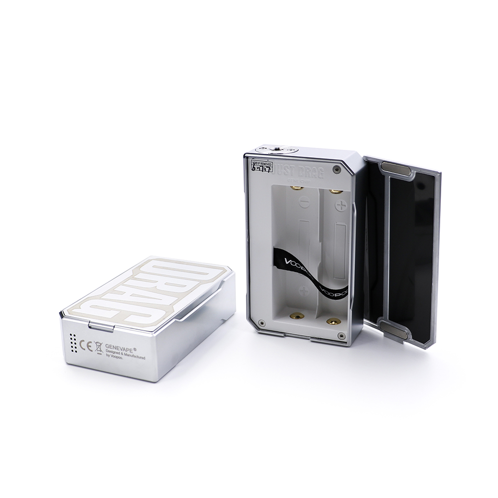 New Color Arrival Original VOOPOO DRAG 157W Box Mod Carbon Fiber/Resin Version 18650 Battery Temperature Control E Cig Vape Mod 30