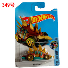 New Arrivals 2017 P Hot Wheels 1:64 motosurus Diecast Car Models Collection Kids Toys Vehicle For Children(China)