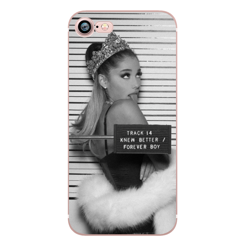 Ariana Grande Coque Dangerous Woman Everyday Beauty and the Beast Phone Cases for iphone 5s 7 6 plus 6s SE 5 Soft Clear Silicone (8)
