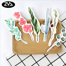 30pcs/box Beautiful plant Gift Bookmarks Marker Stationery Gift Realistic Kawaii Cartoon Bookmarks Office School Supply(China)