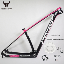 Carbon Mountain Bikes Frame 29 2017 Chinese mtb Carbon Bicycle Frame 27.5 Carbon Frame mtb for Bike Bicycle Part with brake link(China)