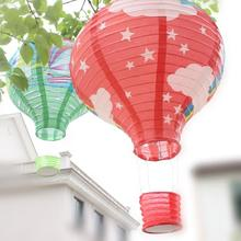 7Pcs/lot 30 Cm Paper Lantern Hot Air Balloon Sky Lanterns Home/Wedding/Birthday/Christmas Party Decoration Supplies -15(China)