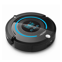 Smart A338 Robot Vacuum Cleaner 2-way Space Isolator LCD Touch Screen HEPA Filter Auto Recharge Full Go Vacuum Cleaner