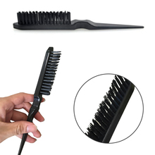 Hair & Grooming Tool Black Teasing Back Hair Comb Salon Brush Tangle ABS 1PC Combing Brush Long and Short Tail Comb