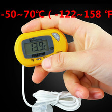 electronic digital thermometer car thermometer instrument temperature thermometer temperature meter sensor pyrometer thermostat(China)