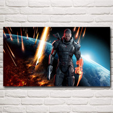 Mass Effect 2 3 4 Shooting Action Game Art Silk Poster Picture Bedroom Living Room Decor 11x20 24x43 30x54 Inches Free Shipping