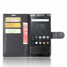 DTEK70 Case For BlackBerry DTEK 70 Cases Wallet Card Stent Lichee Pattern Flip Leather Covers Protect Cover for Black Berry 70