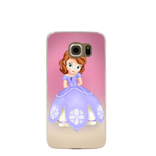10886 Sofia The First cell phone case cover for Samsung Galaxy S7 edge PLUS S6 S5 S4 S3 MINI