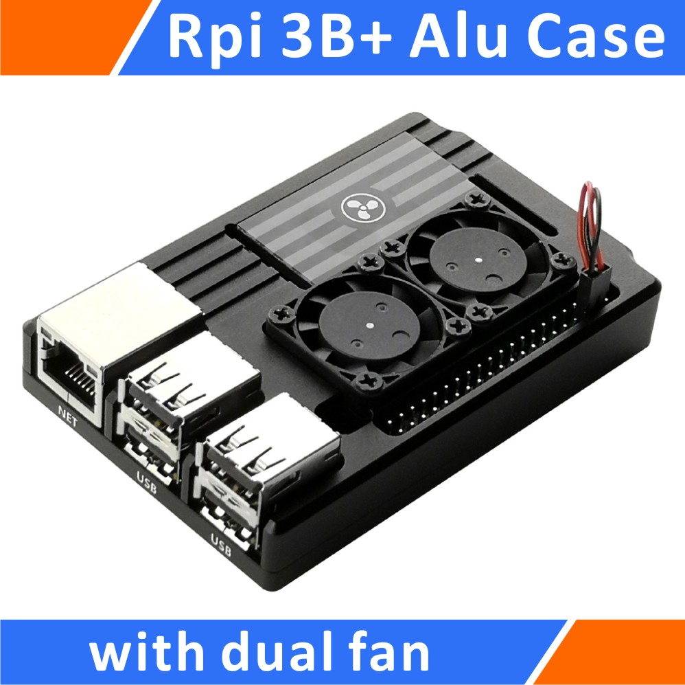 B Pi 2 Aluminum Alloy Metal Case Enclosure Eleduino Raspberry Pi 3