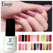 Essaje 3 in 1 UV LED One Step Nail Gel Polish Manicure Varnish No Need Top Base Coat Hot Sale Gorgeous UV Polish Gel Lacquer