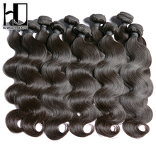 HJ Weave Beauty Wholesale Eurasian Virgin Hair Body Wave Human Hair 10 Pcs/Lot Hair Extensions Free Shipping