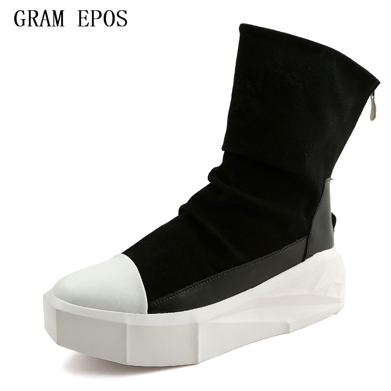 GRAM EPOS MEN shoes comfortable velvet MALE casual shoes men brand TRAINERS zapatillas hombre owen HIGH TOPS sapato masculino<br>