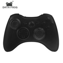 Wireless Controller Shell Full Button Housing Case for Microsoft XBox 360 controller Matte Black