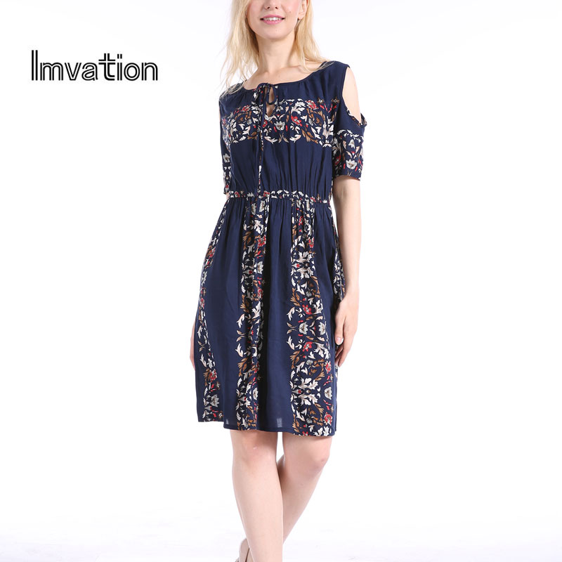 Imvation 2017 Autumn Winter Women Brand Dress Shor...
