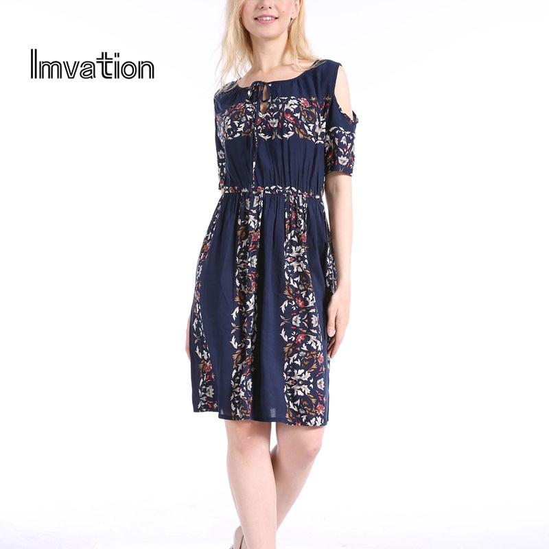 Imvation 2017 Autumn Winter Women Brand Dress Shor...