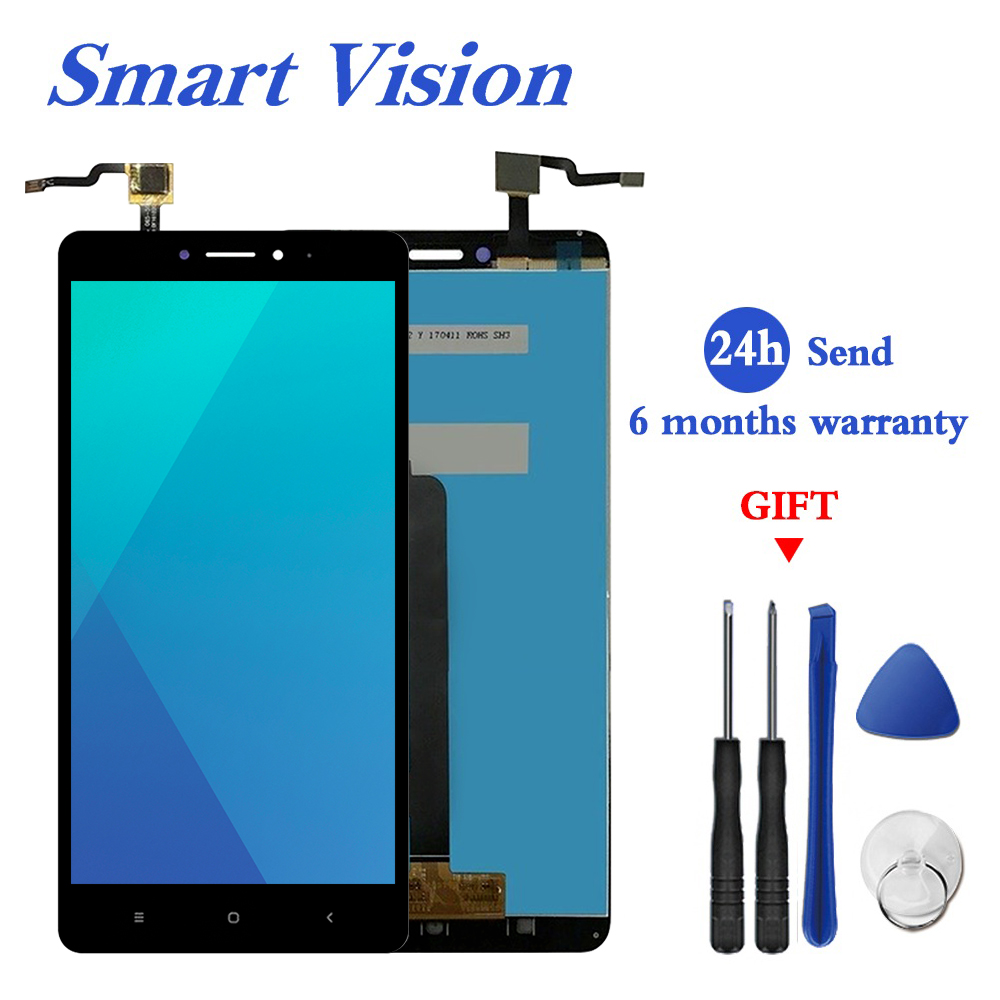 For XiaoMi mi max 1 LCD display and Touch Screen Assembly perfect part 6.44 inch For XiaoMi mimax 1 lcd+Tools