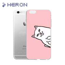 Soft Super Thin TPU Case For iPhone 4 4s 5 5s SE 6 6s 6+ 7 7+ Ultra Thin Transparent Silicone Indie Pop TPU Phone Cases(China)