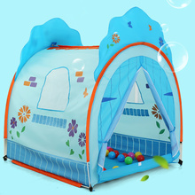 Best gift latest children's play house pink and blue tent children