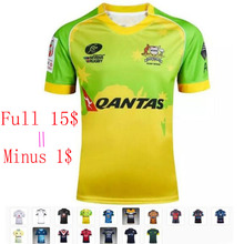 17 kinds Rugby shirts Iron Australia Cricket top quality breathable Cowboys South Africa Rugby Jersey T-shirts Jersey S-3XL