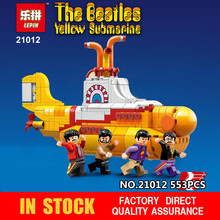 Lepin 21012 The Beatles John Winston Lennon Paul McCartney Harrison Ringo Star Small Toy Figure Yellow Submarine Building Blocks