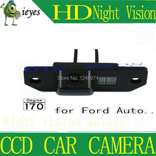 "Free shipping 1/3"" Car Rear view Parking Back Up Reversing Camera For Ford Focus Sedan (2) (3)/08/10 Focus Night vision(China)"