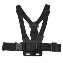 Adjustable Light weight 3 points Elastic Chest Belt Mount Harness For GoPro Hero Camera 3 +3 2 1