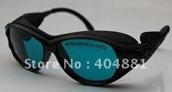 190-380 &amp; 600-760nm laser safety goggle O.D 4+ CE certified high VLT%<br>
