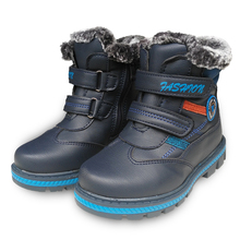 winter 1 pair plus velvet Snow Boots Children Kids Boot,cotton-padded Baby boy Ankle Snow Boot