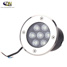 7W LED underground lamp LED Llight Outdoor Buried lamp IP67 DC12V OR AC85~265V(China)