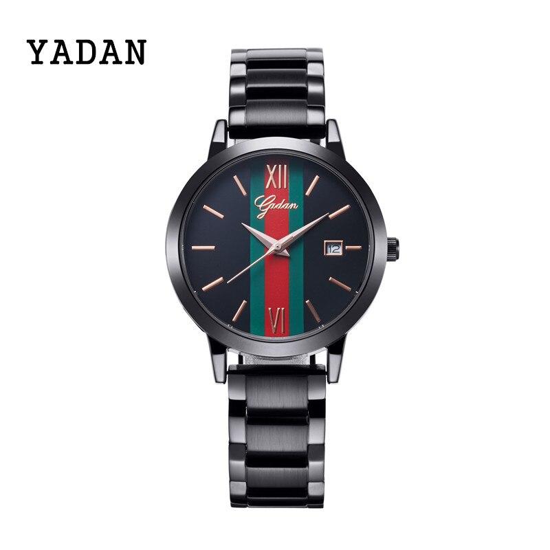 YADAN - 8080G, costly IPJ electroplating womens watch, precision waterproof, high-end brand wrist watch, quartz watch fashion<br>