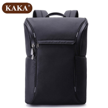 KAKA New Men Backpack European and American Cool Black Oxford Computer Backpack Student Technology Bag Light Male Bag Z737