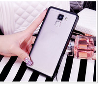 With Dust Plug TPU Frame + Acrylic Back Hard Cover Clear Transparent Phone Cases For BBK Vivo X7 X9 Plus Y66 V3max Xplay5 V5 Y31