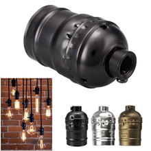 E27 Edison Vintage Retro Pendant Lamp Light Holder Screw Without Switch