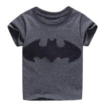 2017 Fashion Brand Boys Clothes Batman Boys Tops Kids Tops Designer Toddler Baby Boys T Shirts Tops Cotton Short Sleeve Tees