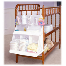 Good Quality Baby Bed Hanging Storage Bag Infant Diaper Toy Holder Cot Newborn Crib Organizer Bedding Set Accessories