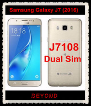 "Samsung Galaxy J7 2016 J7108 Original Unlocked 4G LTE Android Mobile Phone Dual Sim Octa Core 5.5"" 13MP RAM 3GB ROM 16GB 3300mAh"