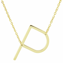 NEW Fashion 45cm Alfabet Initial Necklace Pendant 316L Stainless Steel Gold Letter Necklace Choker long silver necklace pendants(China)
