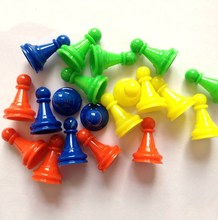 8pcs 25mm Colorful Plastic Pawn Pieces For Board Game Poker Card Game And Other Games Accessories