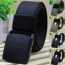 Buy men's belt Practical Tactical Military Nylon Buckle Waist Belt Waistband tactical belt for $2.27 in AliExpress store
