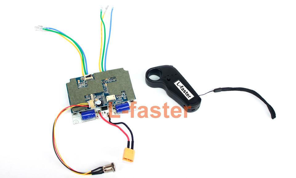electric skateboard dual motor drive control board -1-a